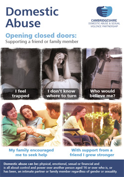 Domestic Abuse - opening closed doors